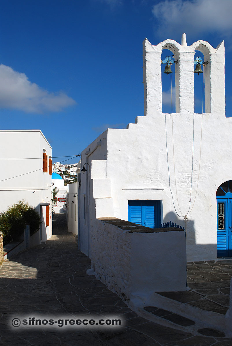 Spaziergang in Apollonia auf Sifnos
